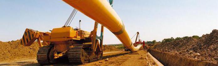 Техническая зона газопровода
